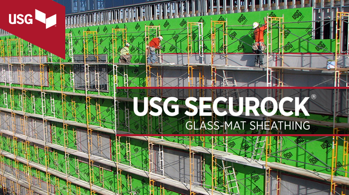 USG Securock Glass-Mat Sheathing
