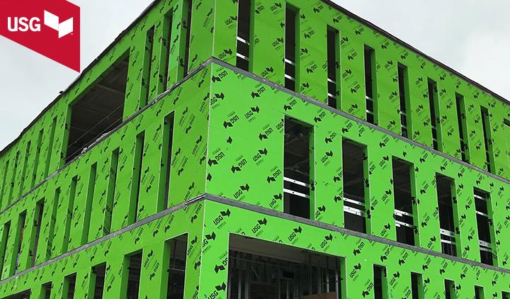 USG SECUROCK® Glass-Mat Sheathing