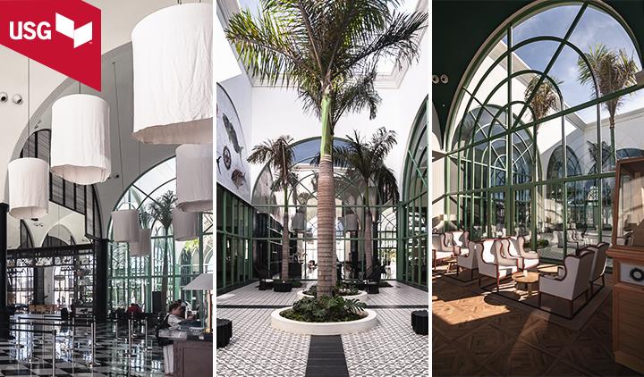 La visión del Arquitecto Ejecutivo Lázaro Rosa – Violán se hizo posible más fácilmente gracias a las soluciones de USG.