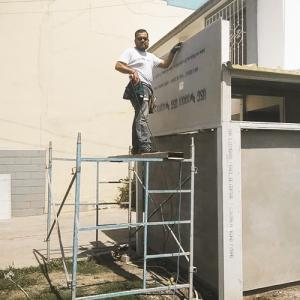 USG DUROCK® es la solución más rápida y duradera para crear fachadas